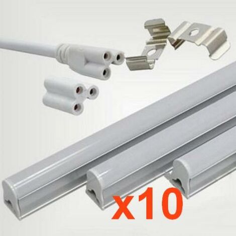 Tube néon LED 150cm T5 24W (Pack de 10) - Blanc Froid 6000K - 8000K - SILAMP
