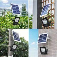 Projecteur Solaire LED 25W Dimmable avec Détecteur (Panneau Solaire + Télécommande Inclus) - Blanc Froid 6000K - 8000K - SILAMP