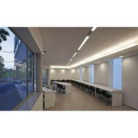 Réglette lumineuse LED étanche 150cm 55W IP65 avec détecteur - Blanc Neutre 4000K - 5500K - SILAMP