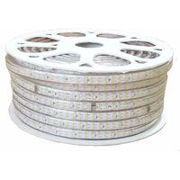 Ruban LED 220V Recoupable 50M Double Rangée IP65 2835 180LED/m - Blanc Neutre 4000K - 5500K - SILAMP