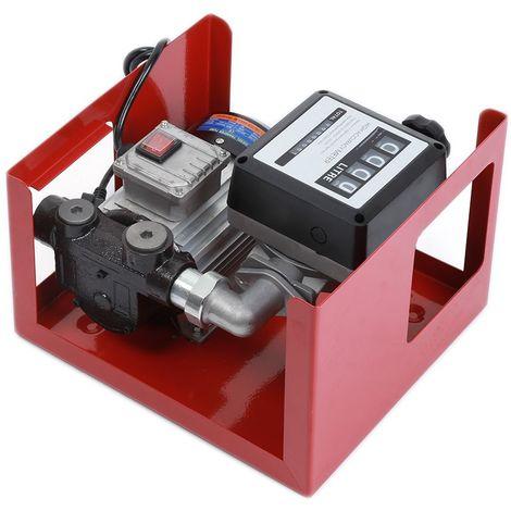 40L//min 200W 12V FIOUL DIESEL TRANSFERT POMPE EXTRACTOR HUILE GASOIL ÉLECTRIQUE