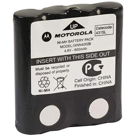 motorola 00242 | motorola 00242 - batterie pour talkies-walkies nimh 4.8 v motorola ixnn4002b 600 mah