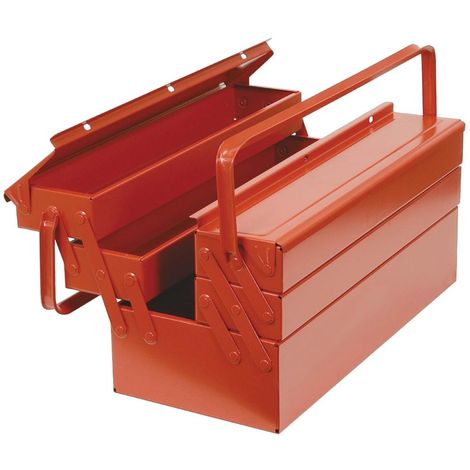 bizline 700107   bizline 700107 - caisse a outils metal 450 x 200 x 200 mm