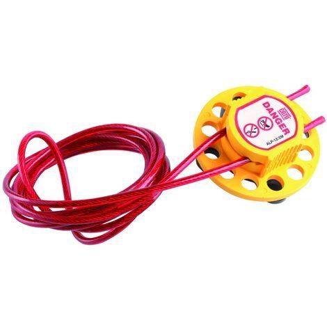 catu alp-12/2m   cati alp-12/2m - condamnateur multiple 12 trous cable 2m
