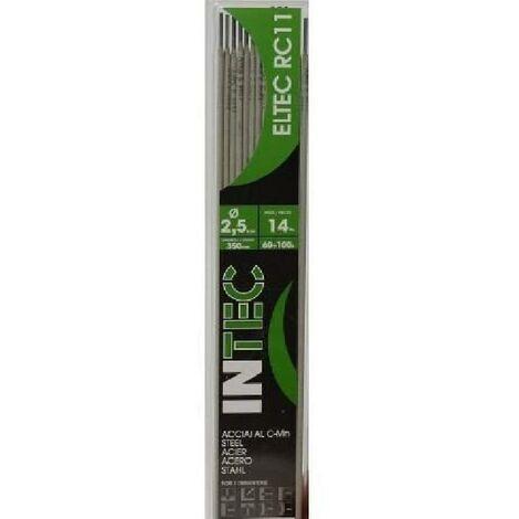 INE Lot de 14 électrodes acier rutile Ø2.5 mm