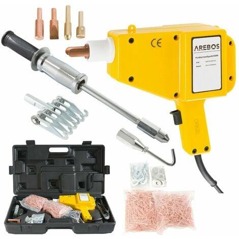 AREBOS Punktschweißgerät Ausbeulspotter 800 Watt - Spotter Ausbeulgerät - gelb