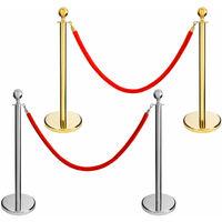 2 Meter Absperrungband Für Personenleitsystem Absperrung Abgrenzungsständer