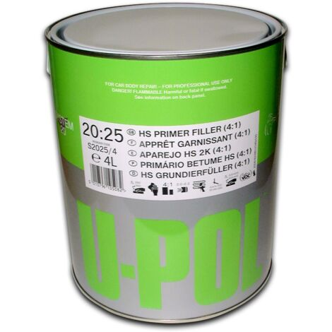 UPOL - Apprêt garnissant gris 1 litre - S2025/1