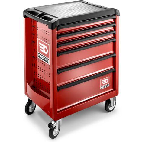 FACOM - Servante ROLL6 6 tiroirs - Nouvelle génération rouge - ROLL.6M3PF