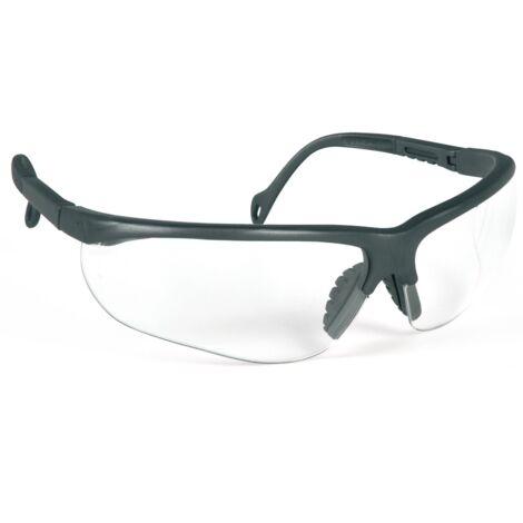 SINGER - Lunettes de protection avec branches réglables - Oculaires incolores - EVASHARK
