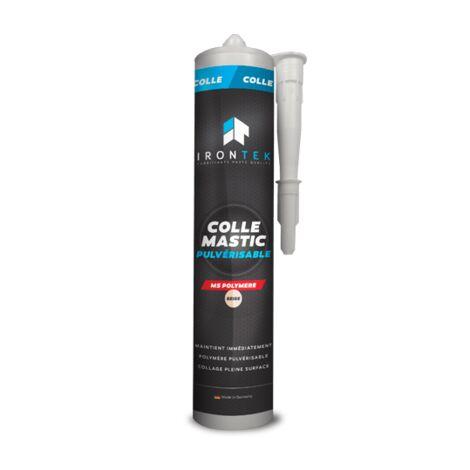 IRONTEK - Colle mastic pulvérisable - Beige - IT120