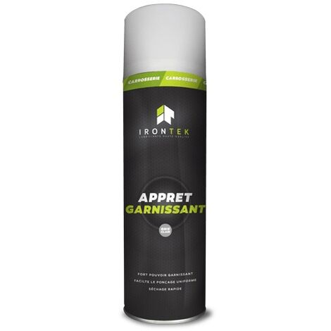 IRONTEK - Apprêt garnissant 500 ml - Gris clair - IT126
