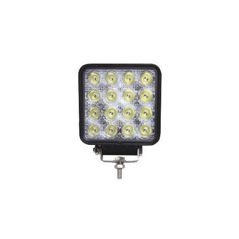 Phare travail carré ZBOX 16 Led 10-30 V 48 W 3200lm