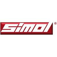 Béquille à manivelle latérale SIMOL 80 x 80 mm 4000 Kg
