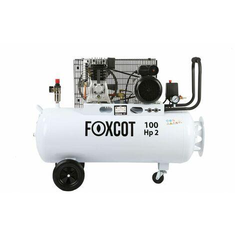 Compressore aria 100 litri Foxcot FL100 - Kit 5 utensili incluso -  -