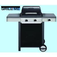 Barbecue a gas Optima 4.1 quattro bruciatori in acciaio inox barbecue bbq