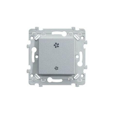 Interrupteur pour VMC - Titane - Essensya - WE048T - Hager