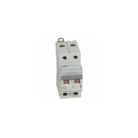 Interrupteur sectionneur bipolaire DX³ IS - 63A - 406441 - Legrand