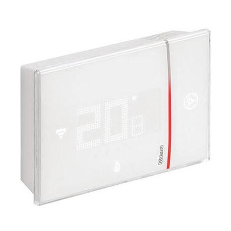 Thermostat connecté saillie - 049037 - Legrand