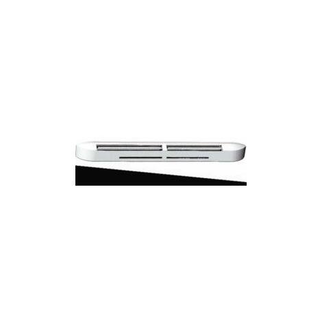 Entrée d'air et grille de façade hygroréglable compacte - Noire - 526611 - Atlantic