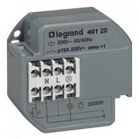 Télérupteur unipolaire silencieux - 049120 - LEGRAND