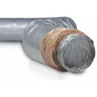Gaine PVC isolée ECOSOFT - Diamètre 160 mm - 549245 - NATHER