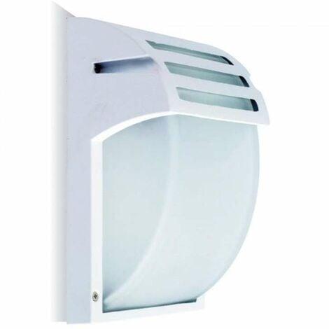 Applique E27 Aluminium Blanc