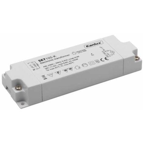 Transformateur électronique 35 à 105W / AC12V