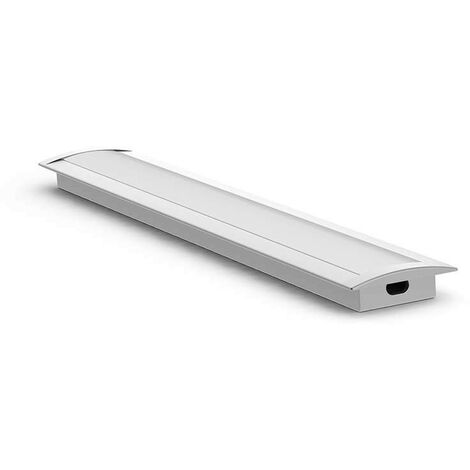 Profilé aluminium encastrable fin 7mm RSL7 - Longueur 1m