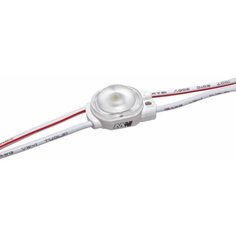 Module LED 0,36W DC12V IP67 pour Caissons Lumineux Blanc Jour 6500K