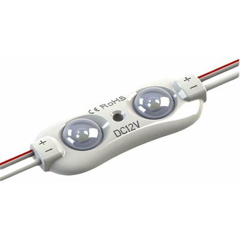 Module LED 0,96W DC12V IP67 pour Caissons Lumineux Blanc Jour 7000K