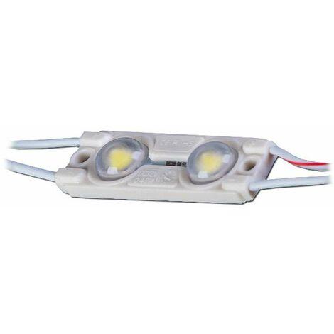 Module LED 0,48W DC12V IP67 pour Caissons Lumineux Blanc Chaud 3000K
