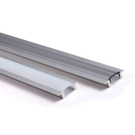 Profilé aluminium encastrable fin 7mm RSL7   2m