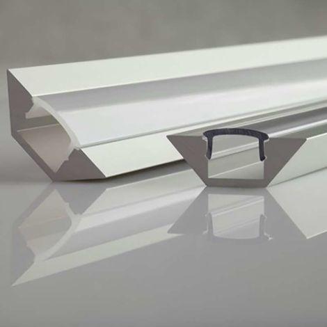 Profilé aluminium angulaire 45° ALU-CORNER | 2m