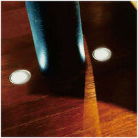 Kit spots LED encastrables ultra-plats | Blanc Chaud 2700K - 6 spots LED - Sans Télécommande