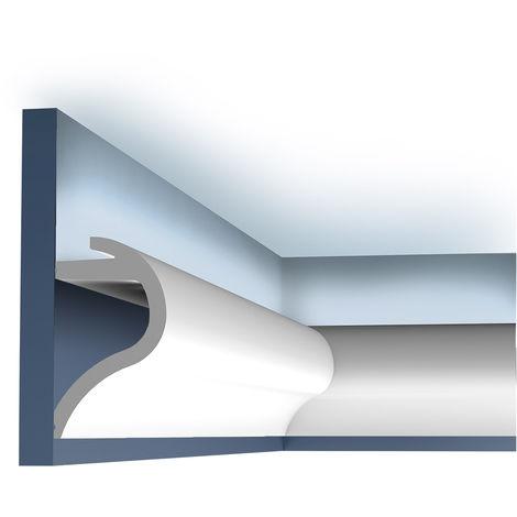 Corniche Moulure Cimaise Décoration de stuc Orac Decor C364 LUXXUS Profil décoratif du mur 2 m