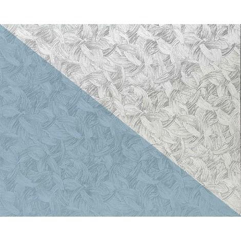 Papier peint non-tissé EDEM 80322BR60 blanc à peindre texturé de trait de pinceau 1 rouleau 26,50 m2