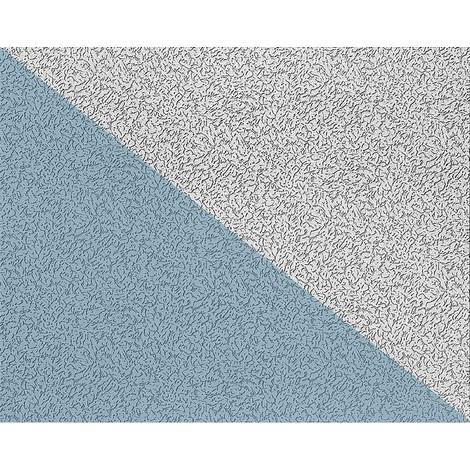 Papier peint non-tissé blanc à peindre EDEM 80307BR70 à relief de type Papier ingraine 26,50 m2