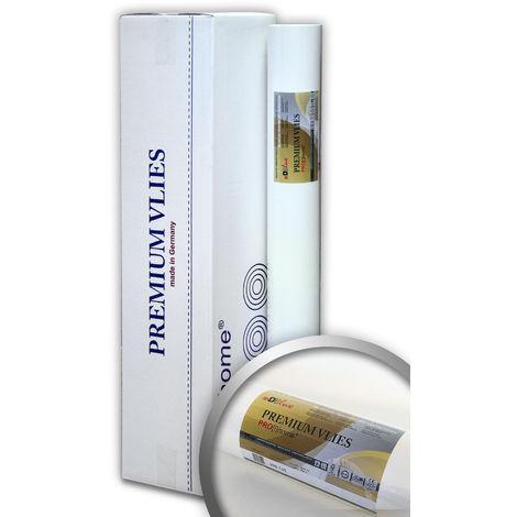 Revêtement intissé de lissage 150 g Profhome PremiumVlies 399-155 fibre de rénovation murale Papier peint intissé blanc 4 rouleaux 100 m2