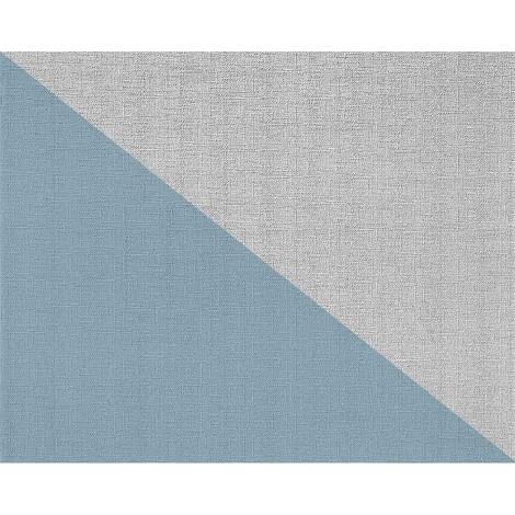 Papier peint intissé blanc à peindre texturé EDEM 80301BR60 décorative de tissu grossier jute double 106 cm - 26,50 m2