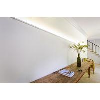 Corniche Orac Decor CX189 AXXENT Corniche Éclairage indirect Moulure décorative design moderne blanc 2 m
