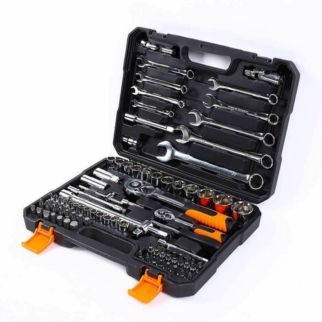 Caisse à outils avec clé à cliquet clé à douille 399 pièces Rx