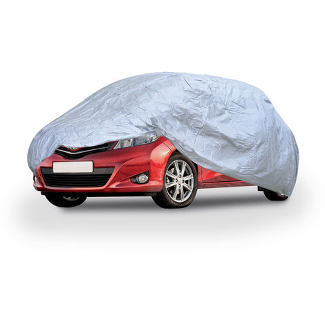 Housse de protection voiture étanche PEVA anti-UV et extensible Cyclone   Taille: M