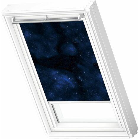 VELUX store occultant (DKL) original, cadre blanc, collection enfants, pour fenêtre de toit VELUX M04, 304, 1 - Univers
