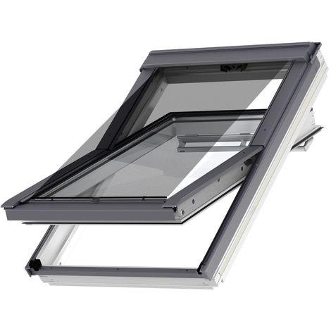 Original store VELUX extérieur pare-soleil pour fenêtres de toit VELUX MK04, M04, 304, 1, MK06, M06, 306, MK08, M08, 308, 2, M10, M27 - Filet Noir