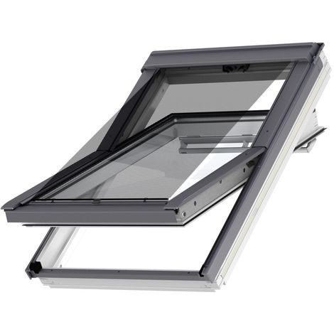 Original store VELUX extérieur pare-soleil pour fenêtres de toit VELUX UK04, U04, 804, 7, UK08, U08, 808, 8, UK10, U10, 810 - Filet Noir