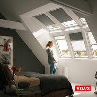 VELUX Original Store Duo Occultant et Tamisant (DFD), Cadre Blanc, M06, 306 - Beige Clair