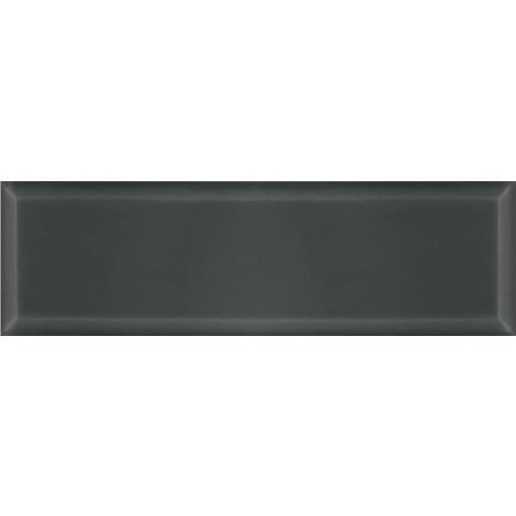 BCT V&A Metro Anthracite Bevelled Brick Effect 14.8cm x 49.8cm Ceramic Wall Tile - VA04336