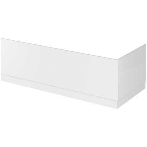 Hudson Reed Gloss White 750mm Bath End Panel with Plinth - OFF171