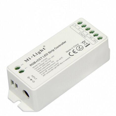 Controlador Tiras Led RGB CCT 12V/24V 15Amax 2,4Ghz
